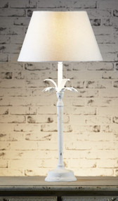 Table Lamp Base White - CSB