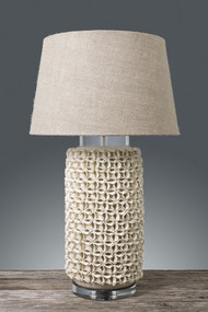 Table Lamp - Cream NWL