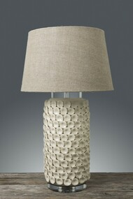 Ceramic Table Lamp - Cream KNL