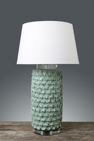 Emac & Lawton Ceramic Table Lamp - Green - BLL
