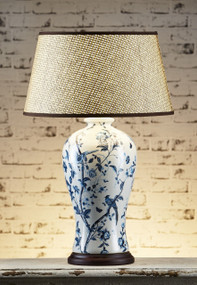 Table Lamp - Ceramic Blue ASH