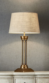 Table Lamp Base - Antique Brass HDS
