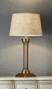 Table Lamp Base - Antique Brass HDS