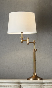 Table Lamp - Adjustable Height Swing Arm MCL