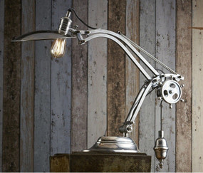 Classic Silver Table Lamp - BSM