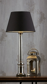 Emac & Lawton Table Lamp Base Antique Silver - WLT