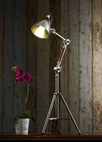 Classic Silver Tripod Table Lamp - DLB