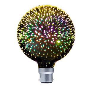 LED Coloured Globes