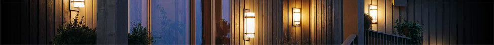 Outdoor Wall Lights, Bunker Lights, Step Lights