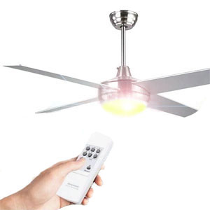 Outdoor Ceiling Fans with Remote Control & Light