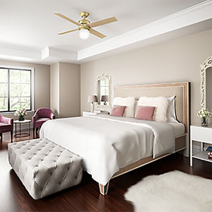 Quiet & Bedroom Ceiling Fans