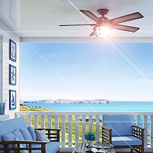 Outdoor Ceiling Fans with Light