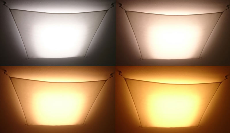 Led tunable white light