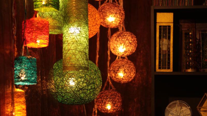 Warm Lighting Ornament