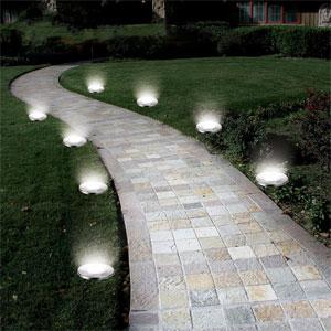 Deck, Ground & Patio Lights