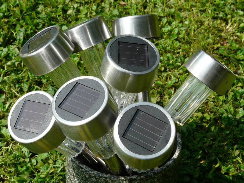 Solar cells lamps