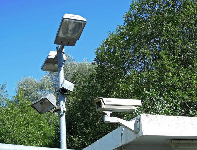 Security lamps lantern lighting