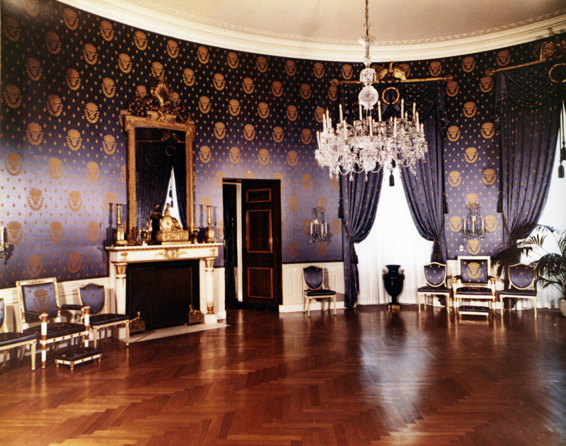 White House. Blue Room