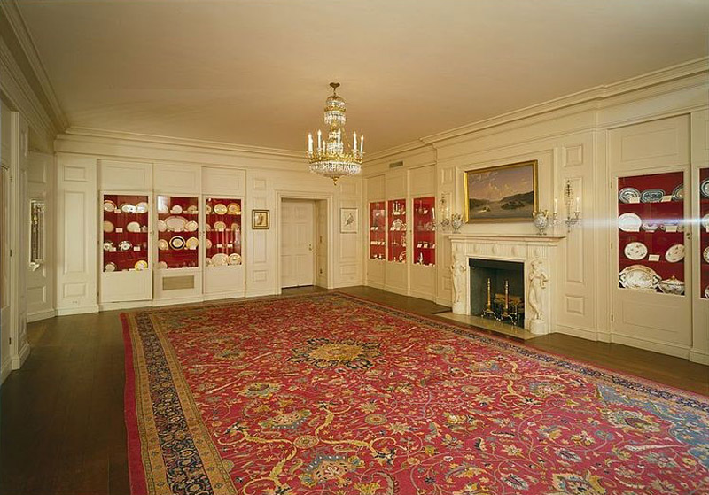 White House. China Room