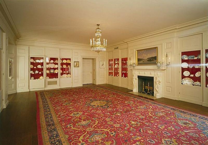 White House. China Room