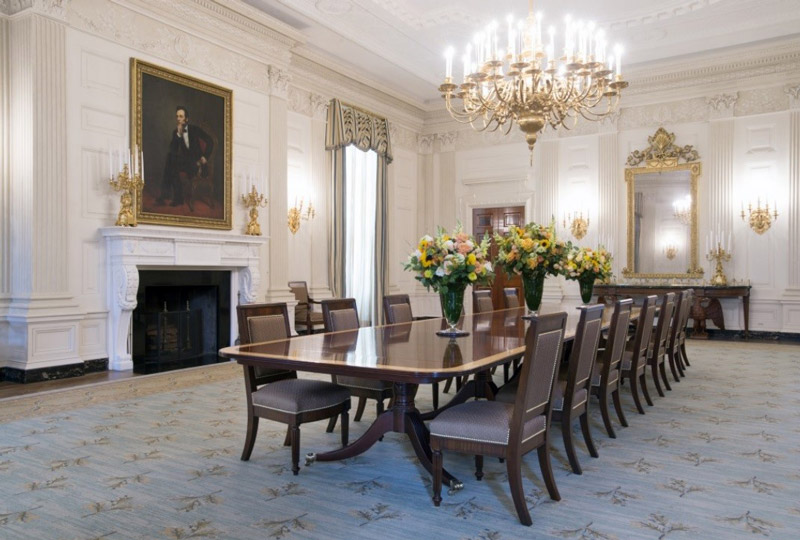 White House. State Dining Room