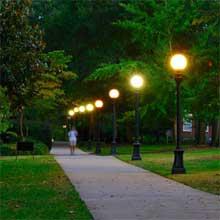 Vandal Resistant Garden Lights