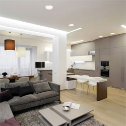 Residential Apartment Building Lighting Project