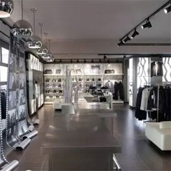High End Fashion Store Lighting Project