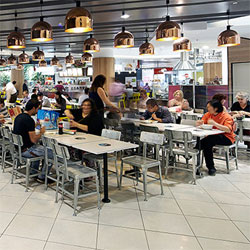 Food Court Lighting Project