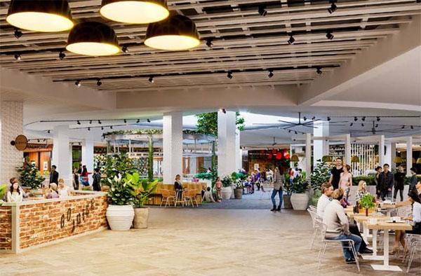 Lighting Style - Shopping Centre Lighting