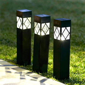 Solar Bollard Lights & Spike Lights