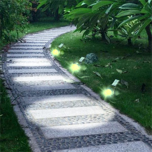Solar Deck & Ground Lights