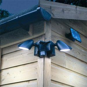 Solar Sensor & Security Lights