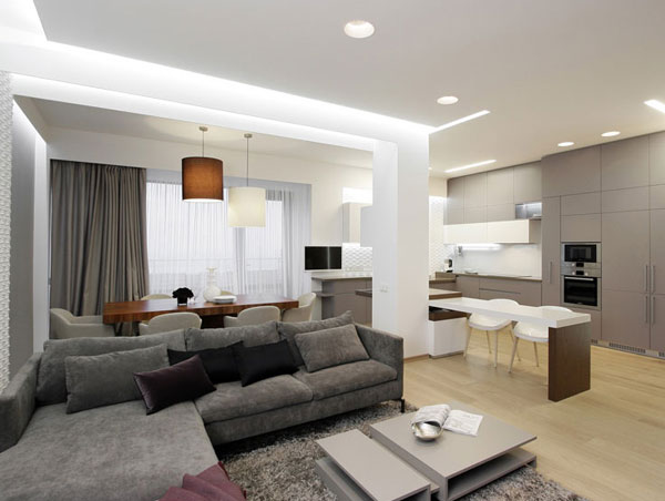 Residential Apartment Building Lighting - Lighting Style