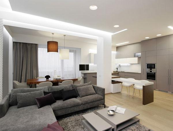 Residential Apartment Building Lighting - Lighting Style