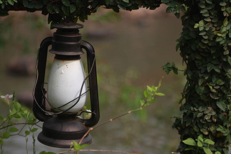 Garden lamp decoration