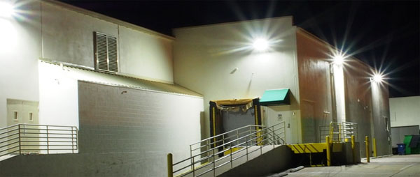 Warehouse Security Lighting - Lighting Style