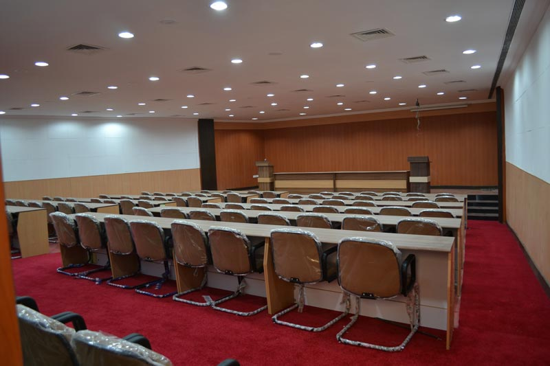 Cyber law conference room
