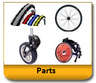 Wheelchair Tires, Wheelchair Forks, Wheelchair Wheels, Wheelchair Casters