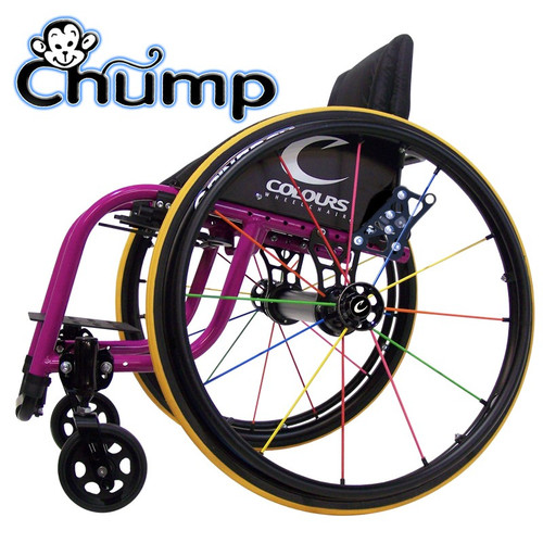 Picture of the Chump Wheelchair side view  sc 1 st  All-Terrain Medical & Colours | CHUMP Kids Wheelchair Rigid