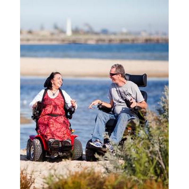 x8 4x4 extreme all terrain power wheelchair by innovation in motion rh allterrainmedical com