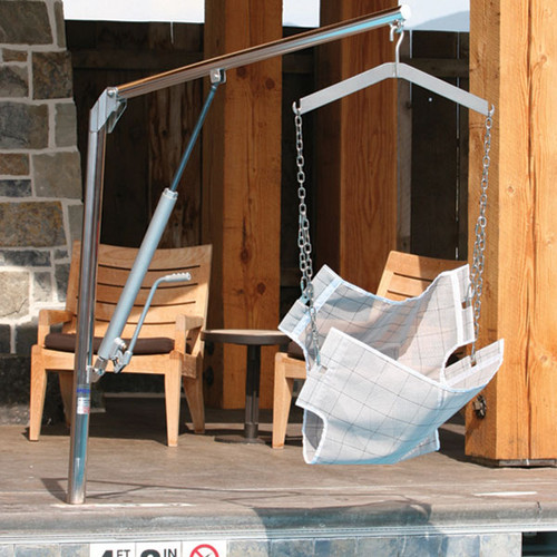 Spectrum Aquatics Elkhorn MP400 Pool Lift- 400 lbs- portable- Not ADA