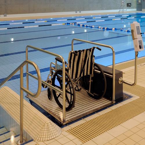 Spectrum Aquatics Glacier Platform Pool Lift- ADA compliant