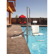 Spectrum Aquatics - Lolo Water Powered Pool Lift - 400 lbs - ADA compliant #27550