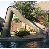 SR Smith - TurboTwister Pool Slide - Right Turn - Sandstone