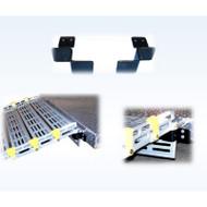 Roll-A-Ramp - Seg-Mount Brackets (Pair) - Stainless Steel - 3150