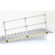 Roll-A-Ramp - Aluminum Handrails - Straight Ends