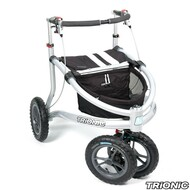 "Trionic Veloped Sport 12"" tires - Walker Rollator - Medium - 12"" tires- Black # 11-00-103"
