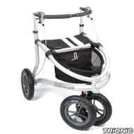 """Trionic Veloped Sport 12"""" tires - Walker Rollator - Medium - 12"""" tires- Black # 11-00-103"""