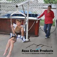 Aqua Creek - Super Power EZ Lift, 400 lb Cap, No Anchor - F-194PHBL-NA